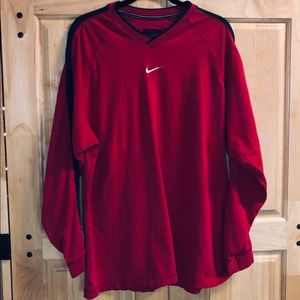 Vintage Nike Long Sleeve V-Neck